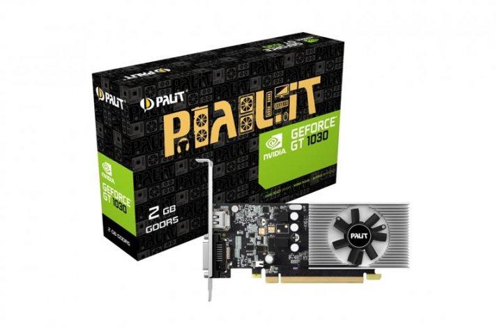 Відеокарта GF GT 1030 2GB GDDR5 Palit (NE5103000646-1080F) - зображення 1