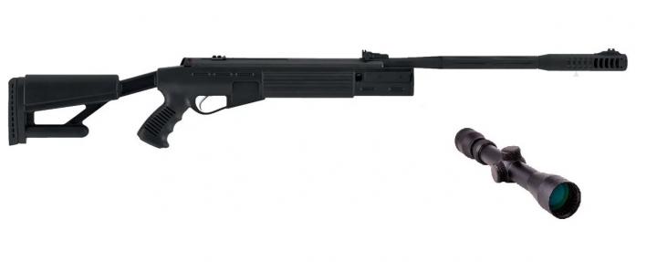 Пневматична гвинтівка Hatsan AirTact з газовою пружиною 3-9×40 Sniper AR - зображення 1