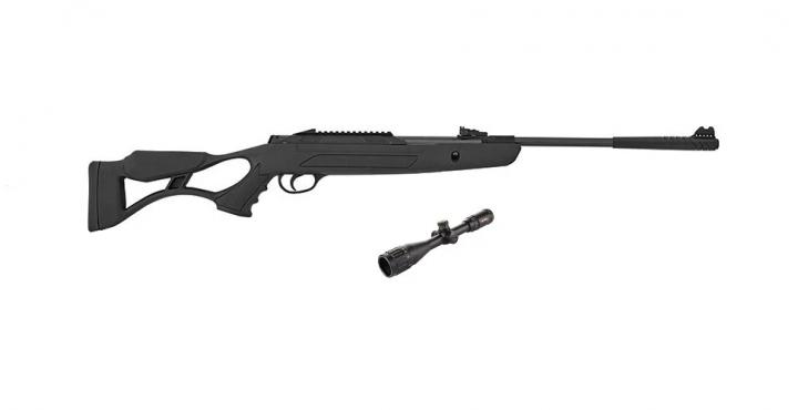 Пневматична гвинтівка Hatsan AirTact ED з газовою пружиною + приціл Sniper 3-9x40 AR - зображення 1
