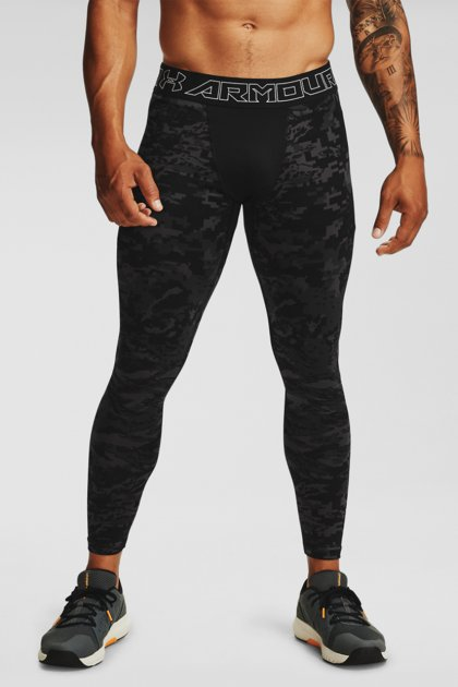 Мужские черные тайтсы UA Armour CG Print Leggings Under Armour MD 1360575-001 - изображение 1