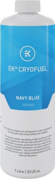 Охолоджуюча рідина EKWB EK-CryoFuel Premix Navy Blue 1000 мол (3831109813270) - зображення 1