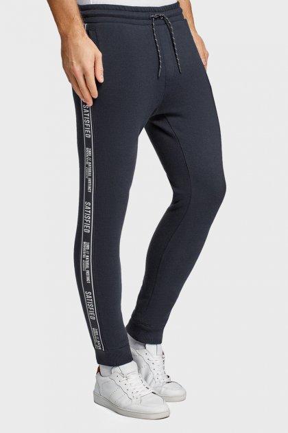 Мужские синие спортивные брюки Oodji L 5L200006I-1/19014N/7902B - изображение 1