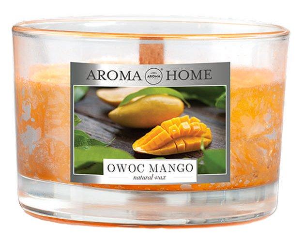 Ароматическая свеча из натурального воска Aroma Home 835196 Манго 115 г (5902846835196) - изображение 1