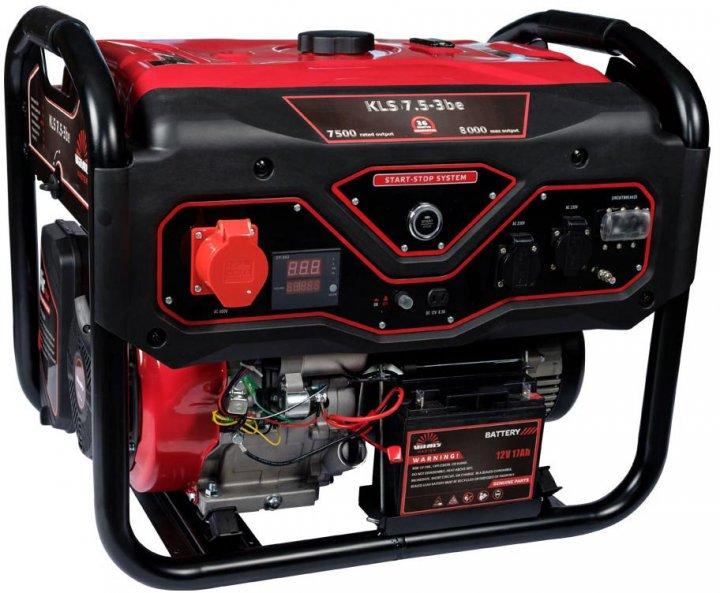 Генератор бензиновый Vitals Master KLS 7.5-3be (88871N) - изображение 1