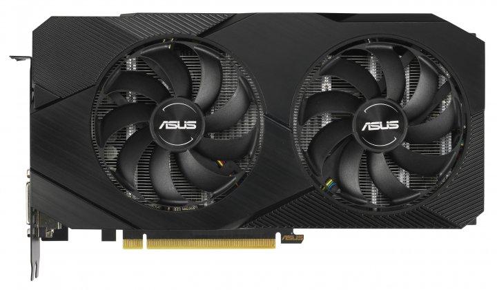 Asus PCI-Ex GeForce RTX 2060 Dual EVO OC Edition 6GB GDDR6 (192bit) (1365/14000) (DVI, 2 x HDMI, DisplayPort) (DUAL-RTX2060-O6G-EVO) - зображення 1