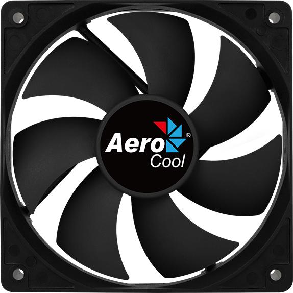 Кулер Aerocool Force 12 PWM Black - зображення 1