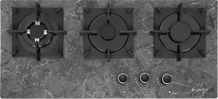 Варильна поверхня газова GEFEST ПВГ 2150-01 К93 - зображення 1