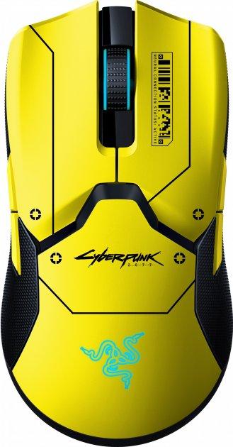 Мышь Razer Viper Ultimate Wireless & Mouse Dock Cyberpunk 2077 Edition (RZ01-03050500-R3M1) - изображение 1