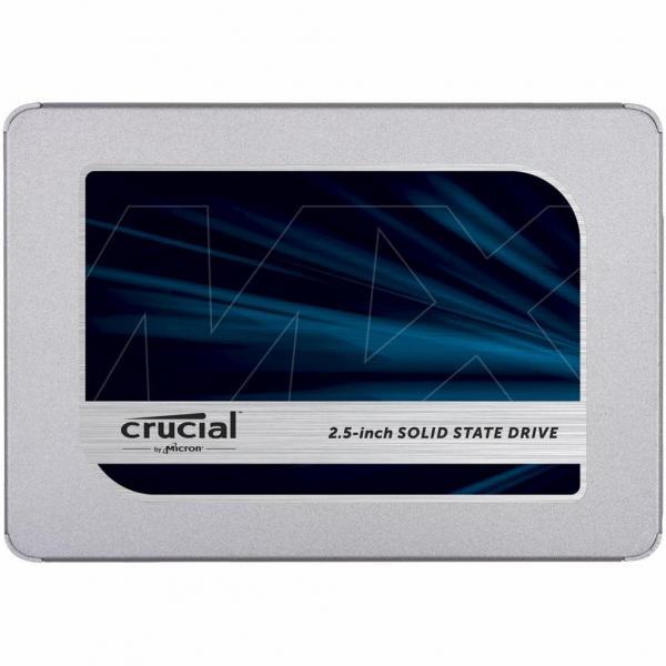 """Накопичувач SSD 2.5"""""""" 1TB MICRON (CT1000MX500SSD1) - зображення 1"""