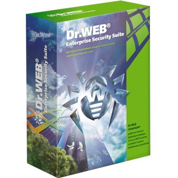 Антивірус Dr. Web Малий бізнес NEW версія 11 5ПК/1 сервер/5 моб. на 1год (КВС-*C-12M-5-A3) - зображення 1