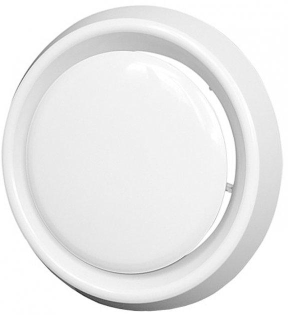 Анемостат EUROPLAST VD100 пластик белый - изображение 1