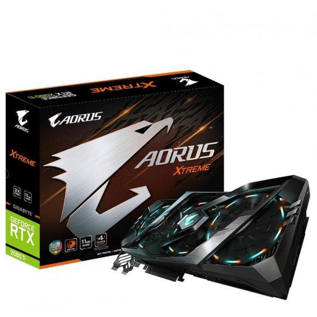 Видеокарта GIGABYTE GeForce RTX2080 Ti 11Gb AORUS X (GV-N208TAORUS X-11GC) - изображение 1