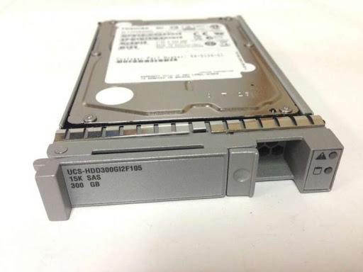 Cisco Cisco RF 300GB6Gb SAS15K SFF HDD/hotplg/drivesled (UCS-HDD300GI2F105-RF) Refurbished - зображення 1