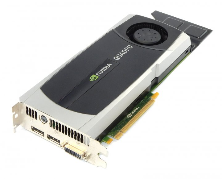 Відеокарта HP HP NVIDIA QUADRO 6000 6.0 GB GRAPHICS CARD (717701-001) Refurbished - зображення 1