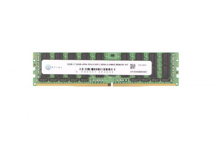 Оперативная память Ortial ORTIAL 32GB (1*32GB) 4RX4 PC4-17000P-L DDR4-2133MHZ LRDIMM (OT1K32GB4X4D2) Refurbished - изображение 1