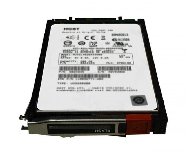 SSD EMC EMC Disk 800GB SAS SSD 2,5 (V5-2S6FX-800) Refurbished - зображення 1