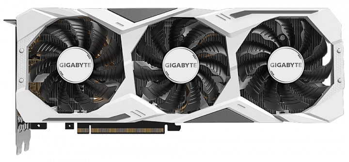 Gigabyte PCI-Ex GeForce RTX 2070 Super Gaming OC White 8G 8GB GDDR6 (256bit) (1815/14000) (Type-C, HDMI, 3 x Display Port) (GV-N207SGAMINGOC WHITE-8GC) - зображення 1