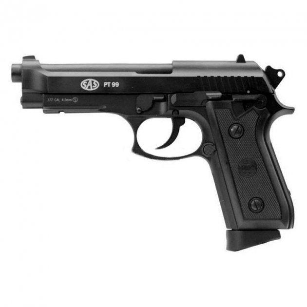 Пистолет пневматический SAS PT99 черный - изображение 1