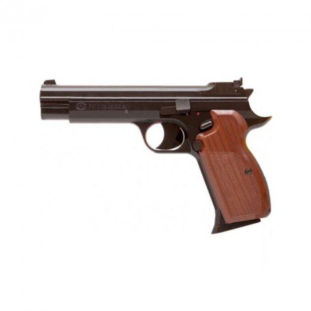 Пистолет пневматический SAS P 210 черный - зображення 1