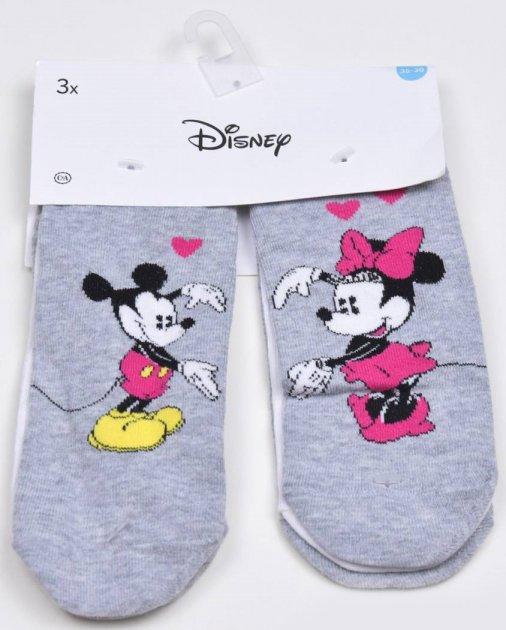Набір шкарпеток C&A 586-70-79840-509D 3 пари 39-42 Сіро-білі (06303485557) - зображення 1