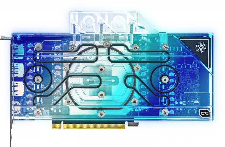 INNO3D PCI-Ex GeForce RTX 3090 Frostbite 24GB GDDR6X (384bit) (1755/19500) (HDMI, 3 x DisplayPort) (C3090-246XX-1880FB) - зображення 1