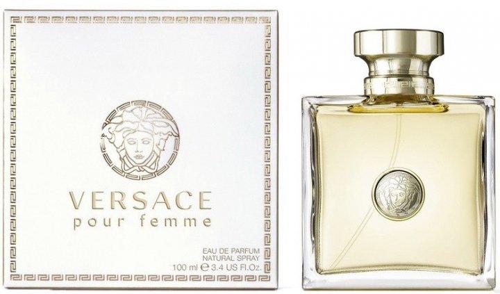 Парфюмированная вода для женщин Versace Pour Femme 100 мл (8011003994618) - изображение 1