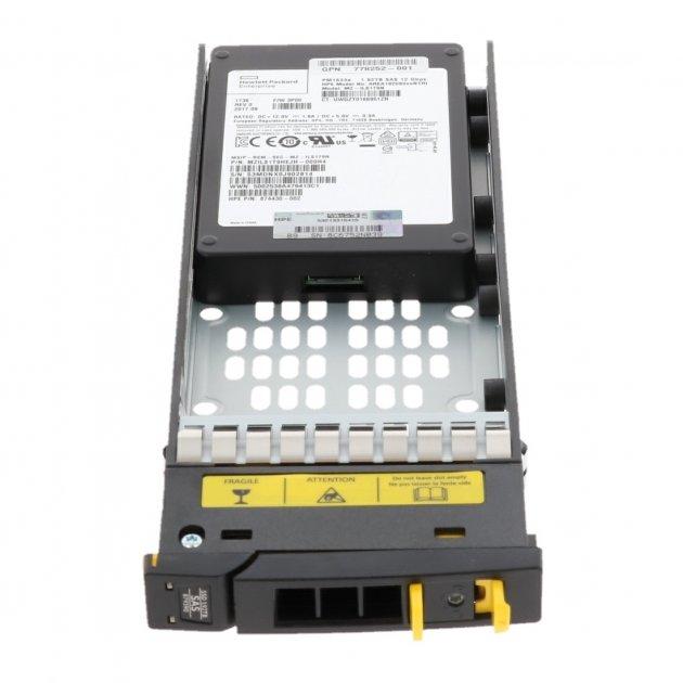 SSD HP 1.92 TB SAS SFF SSD for 3PAR 7000 (874430-002) Refurbished - зображення 1