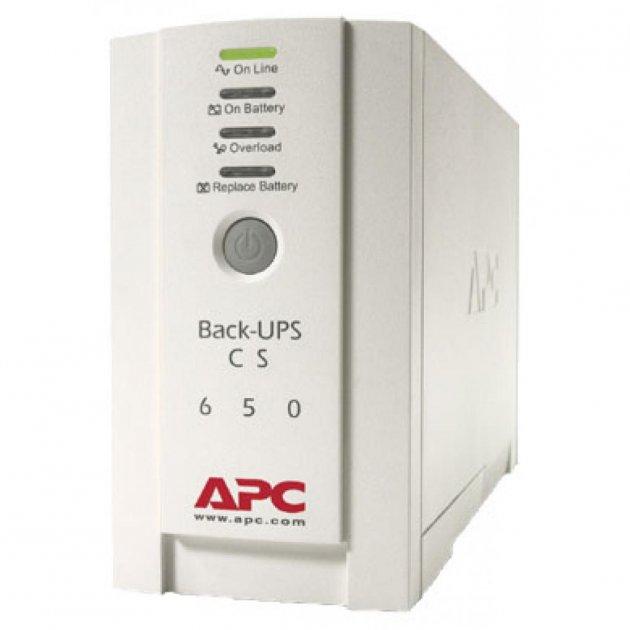Пристрій безперебійного живлення Back-UPS CS 650VA APC (BK650EI) - изображение 1