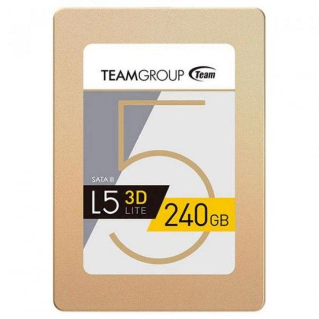 Накопичувач SSD 240GB 2.5 Team (T253TD240G3C101) - зображення 1