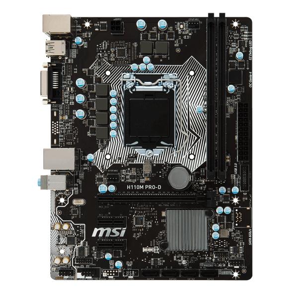 Материнська плата MSI H110M PRO-D - зображення 1