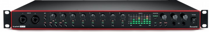 Аудиоинтерфейс Focusrite Scarlett 18i20 3rd Gen (228809)