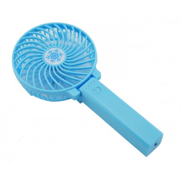 Ручний портативний вентилятор GTM Blue Синій - зображення 1