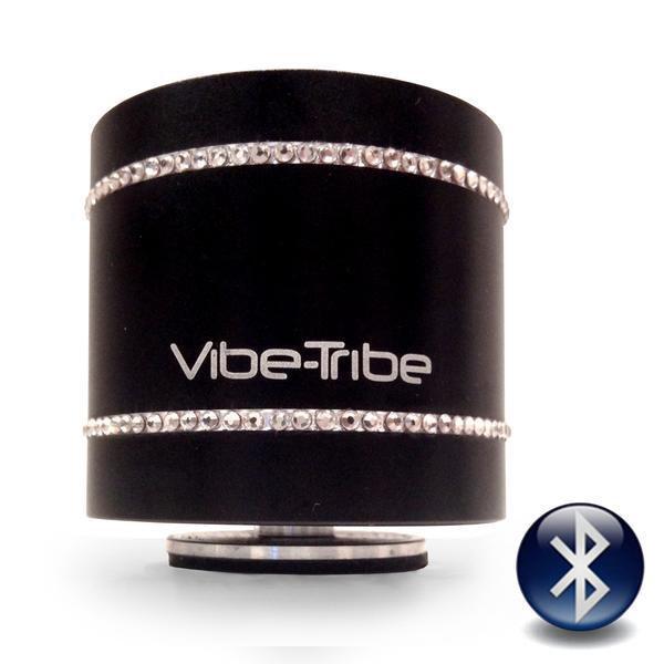 Колонка резонансна динамік Vibe-Tribe Troll Swarovski Original 3D акустика чорний - зображення 1