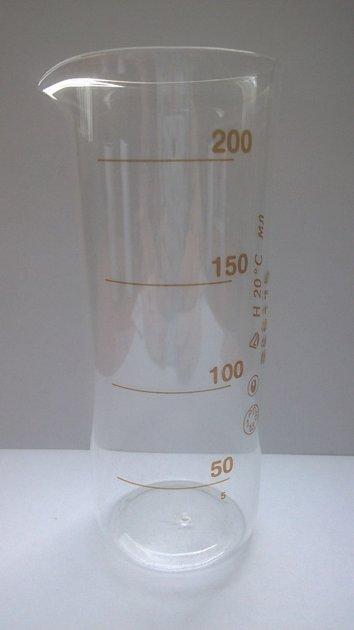 Стаканы мерные 200 мл ТУ Украины 14307481.016-96 с Госповеркой для алкогольных напитков (mdr_5334) - изображение 1