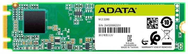 ADATA SU650 240GB M.2 SATA III 3D TLC (ASU650NS38-240GT-C) - изображение 1