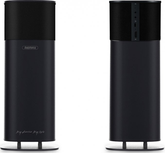 Портативная акустика Remax TWS Speaker RB-H10 Black - изображение 1