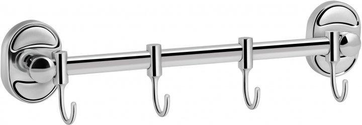 Планка LIDZ (CRM)-114.08.04 з 4 гачками - зображення 1