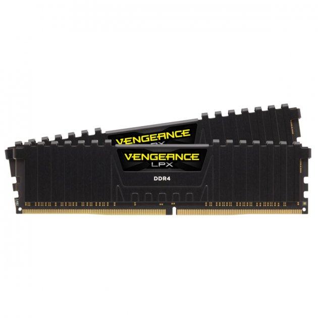 Модуль памяти DDR4 2х8GB/4333 Corsair Vengeance LPX Black (CMK16GX4M2K4333C19) - изображение 1