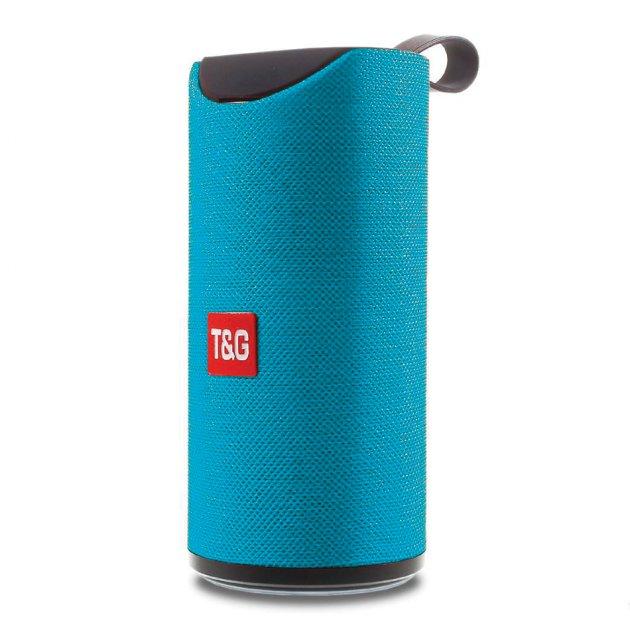 Портативна колонка Bluetooth T&G TG-113 голуба - изображение 1