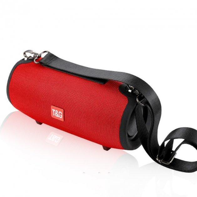 Портативна колонка Bluetooth T&G TG-125 червона - изображение 1