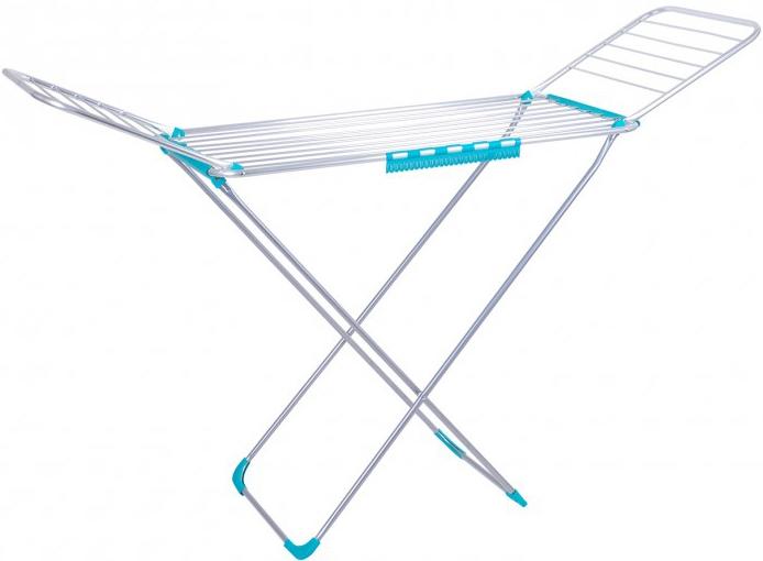 Сушка для белья Laundry Elegancie анодированый алюминий 18 м (TRL-1822AL-CYAN) - изображение 1