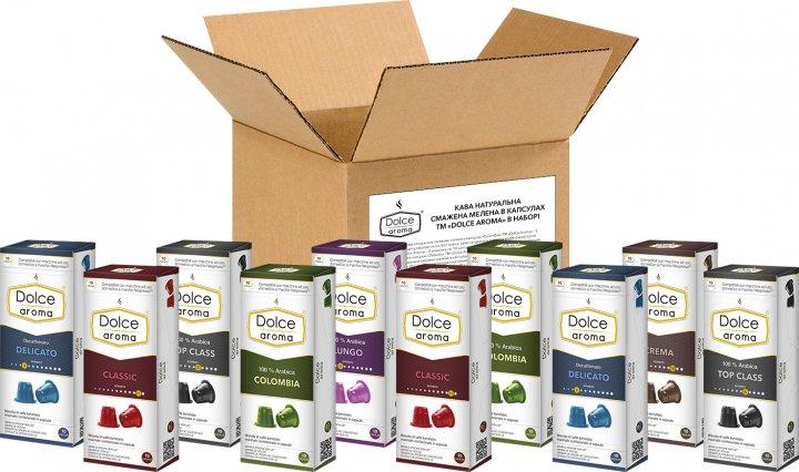 Упаковка капсул Dolce Aroma для системы Nespresso 100 шт (4820093485012) - изображение 1
