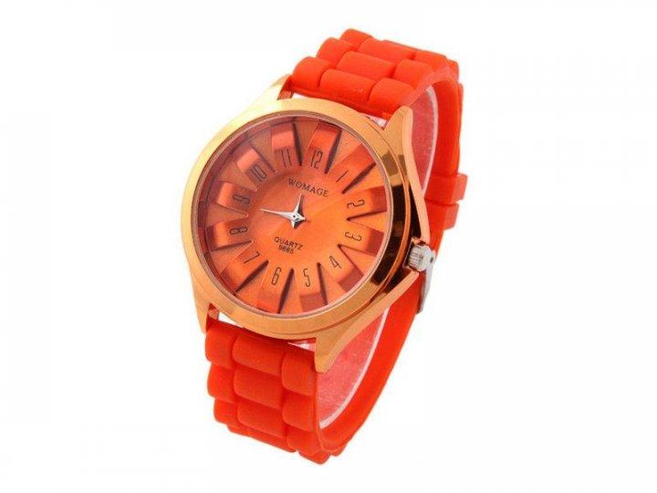 Жіночі наручні годинники Womage, Помаранчевий - зображення 1