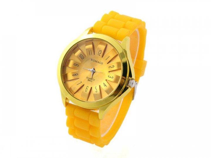 Женские наручные часы Womage, Желтый - изображение 1