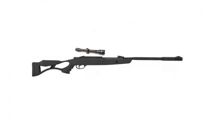 Пневматическая винтовка Hatsan AirTact ED с усиленной газовой пружиной + ОП Sniper 3-9x40 AR + пули - изображение 1
