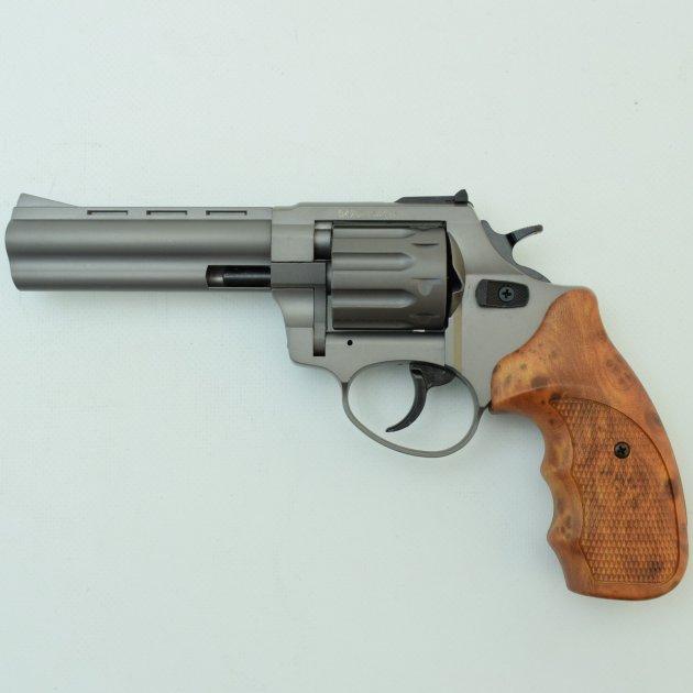 """Револьвер Флобера Stalker Titanium 4.5"""" wood - зображення 1"""