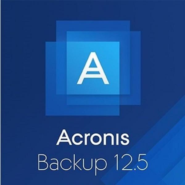 Системная утилита Acronis Backup 12.5 Standard Server License incl. AAP ESD (2-5) (B1WYLPZZS22) - изображение 1