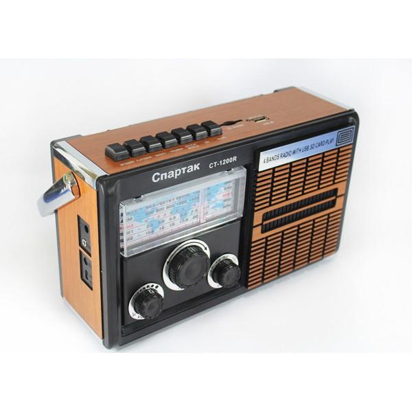 Портативный MP3 Спартак CT 1200 Радио (DM00110) - изображение 1