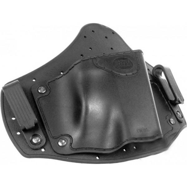 Кобура Fobus универсальная, скрытого ношения на поясе, для больших пистолетов ц:black - изображение 1