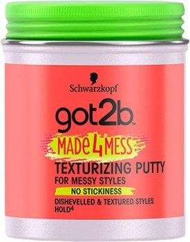 Текстурирующая паста Got2b Made 4 Mess Schwarzkopf 100 ml